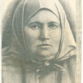 Фотография матери С.Сайдашева — Махубджамал Сайдашева